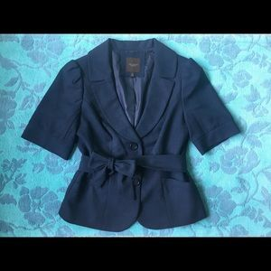 The Limited Brand 1/2 Sleeve Cropped Blazer